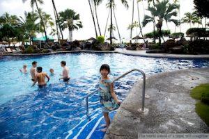 ヒルトンハワイアンビレッジのプール