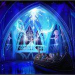 WDWエプコットの「アナと雪の女王」ライド情報