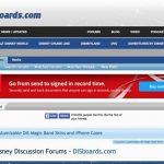 海外ディズニーの情報が圧倒的なBBS