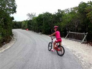 キャスタウェイケイのサイクリング
