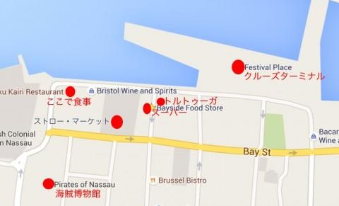 ナッソーのマップ