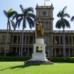 ハワイ旅行記 11 2017・カメハメハ大王像