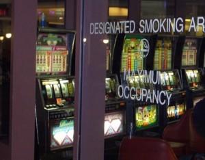 マッキャラン空港内喫煙所