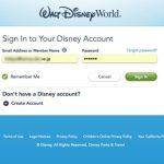 準備その4・My Disney Experience(オーランド)