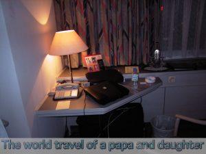 海外旅行の荷物、スーツケース