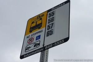アメリカのバス