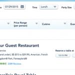 準備その8・Be Our Guest Restaurantのランチ予約(オーランド)