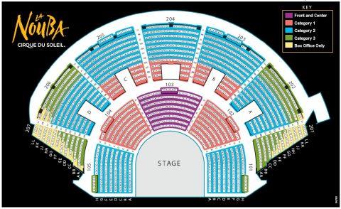 ラ・ヌーバの座席表