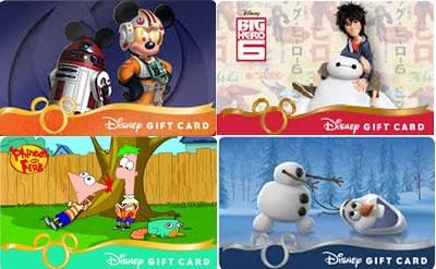 ディズニーギフトカード