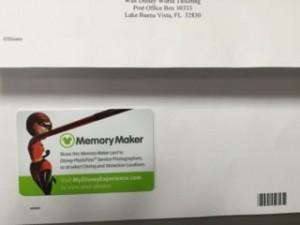 メモリーメーカーのカード
