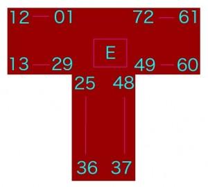 ポップセンチュリーの部屋番号