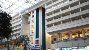 オーランド空港のハイアット