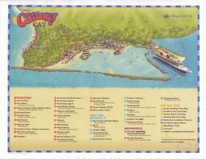 キャスタウェイケイのマップ