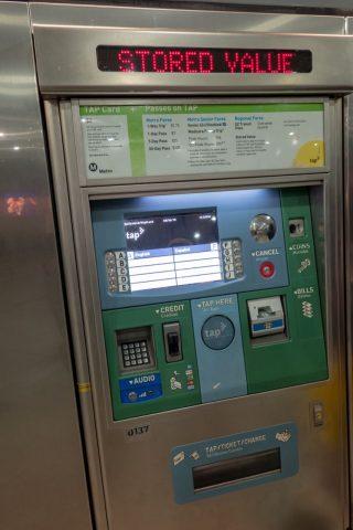 TAPカード販売機