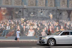 ハリウッドの壁画